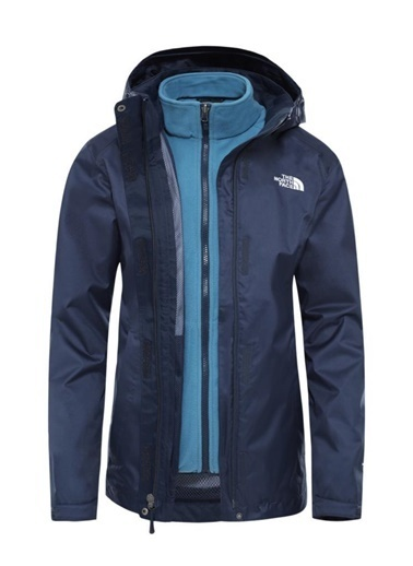 The North Face The North Face Evolve II Triclimate Kadın Mont Lacivert Renkli